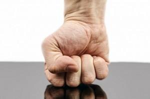 Aggressive fist