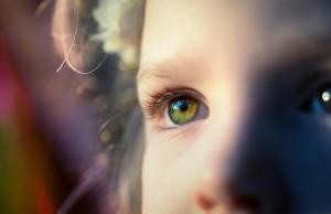 Inner peace in the eyes